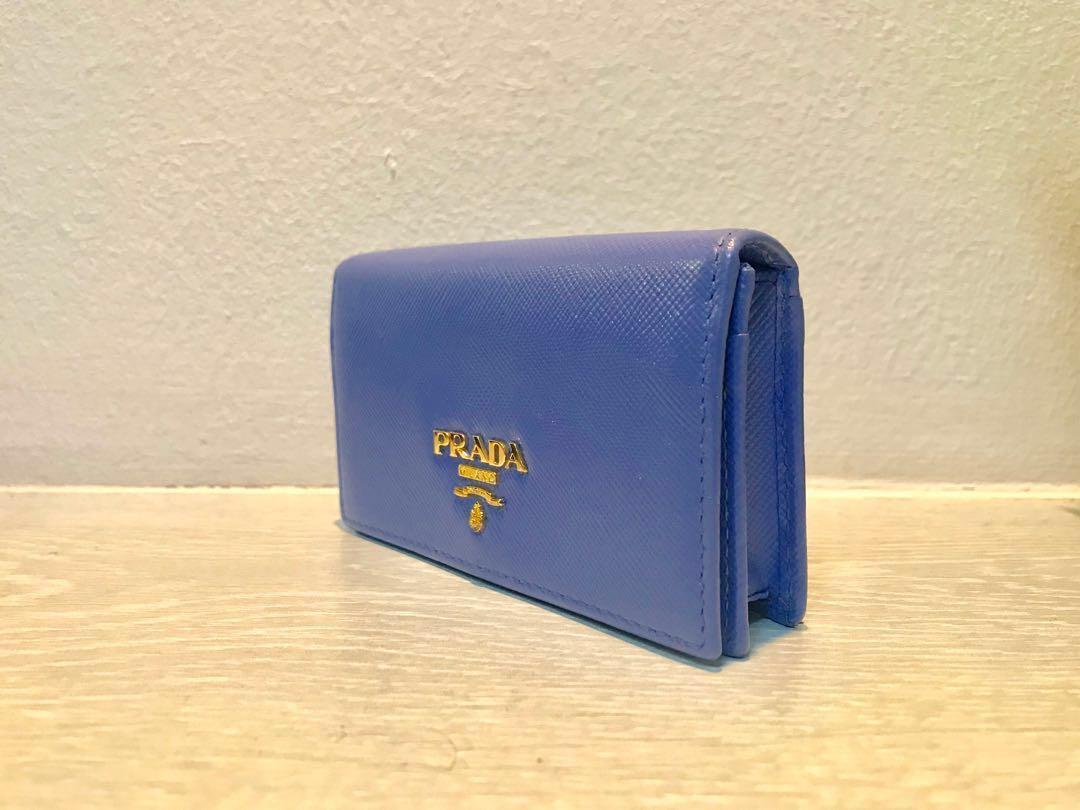 1381f0ab0dd3 Prada Saffiano Leather Business Card Holder, Luxury, Bags & Wallets ...