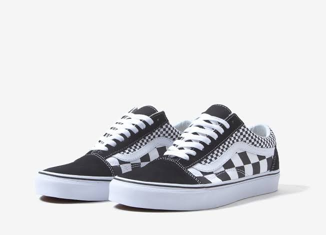 6fc9281c6a41e8 Preloved Vans Sneakers - old skool Mix Checker