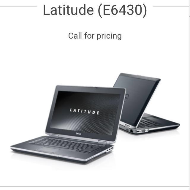 Preowned DELL Latitude E6430S 3rd-gen intel-i7, 4GB Memory, 500GB HDD, Win7  Pro 64bit