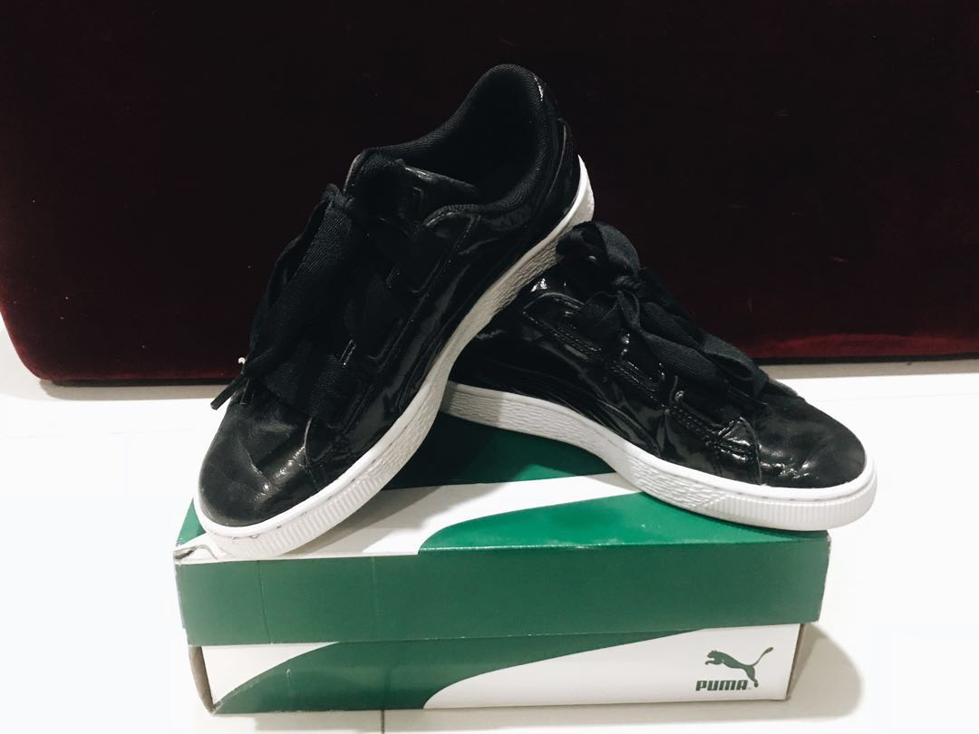 Puma Basket Hearts Sneakers (pre-loved) a98815112
