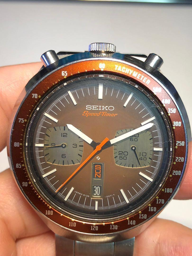 NEW SEIKO DAY DATE WHEELS AT 6  FOR 6138-0040 6138-0049 BULLHEAD 6138 Movement