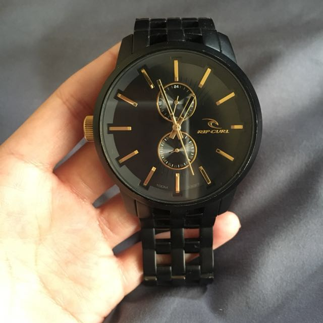 Rip curl A2740 Mid Detroit 24 Midnight Gold Analog, Men's Fashion, Watches on Carousell