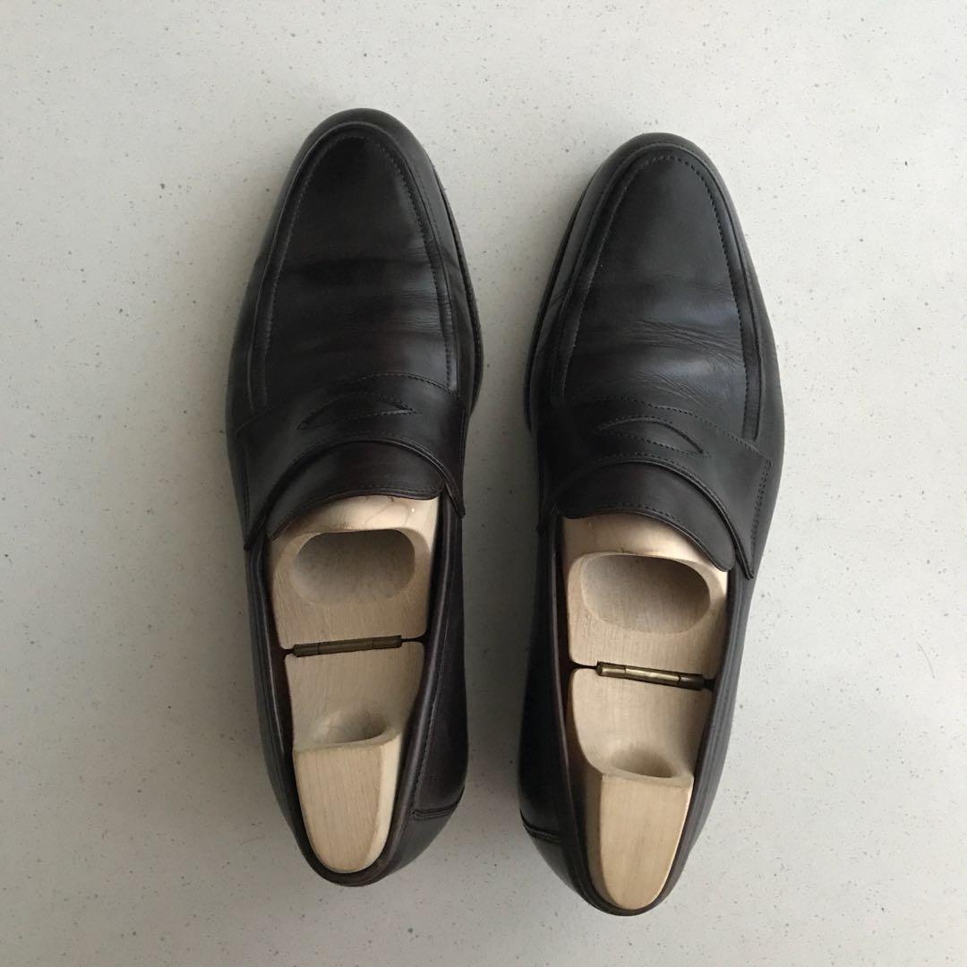 ce1e1b670b7 Saint Crispin s Penny Loafers