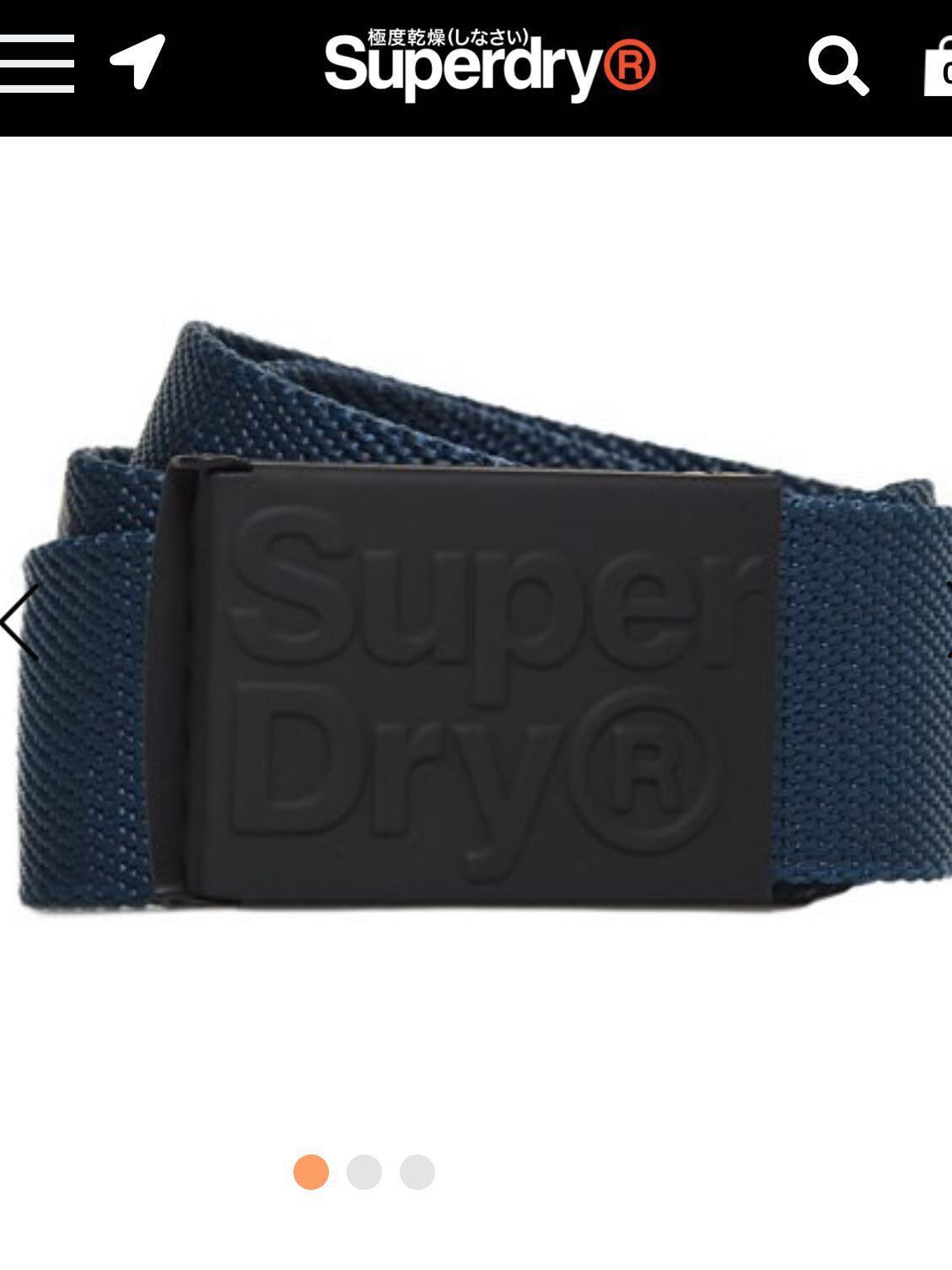 8db8fdc8915 SALE!!!! Authentic Superdry Belt