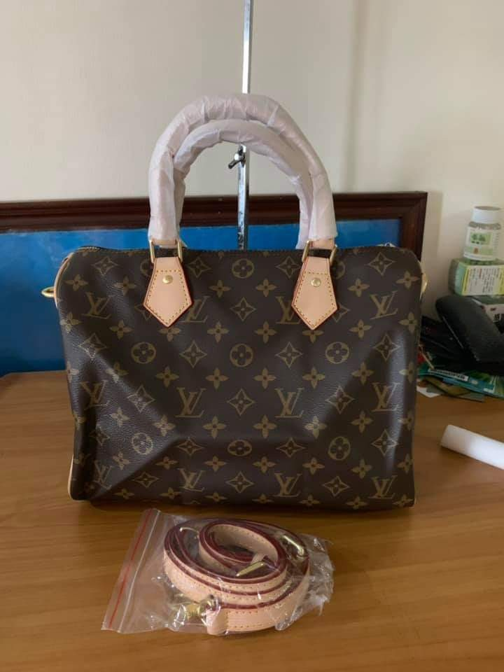 95e7e346ca0c Sale! Louis Vuitton Speedy Bandouliere Bag with Sling LV Authentic ...