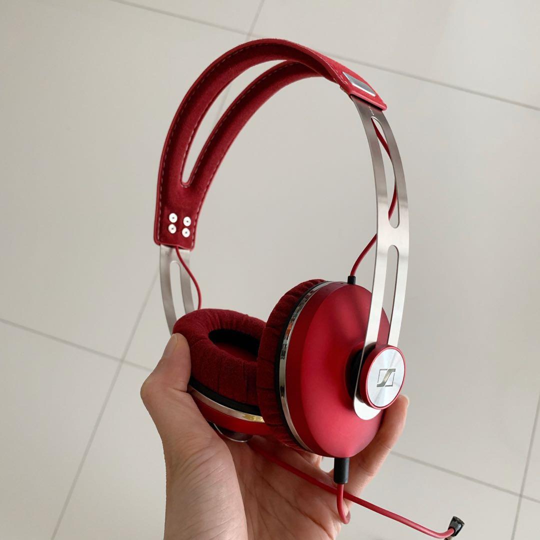 Sennheiser Momentum On-Ear Headphone Red