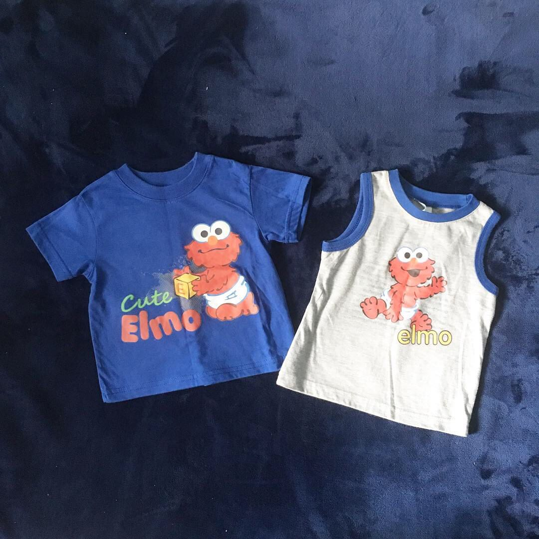Elmo Toddler Clothes Babies Kids Boys Apparel 1 To 3 Years On