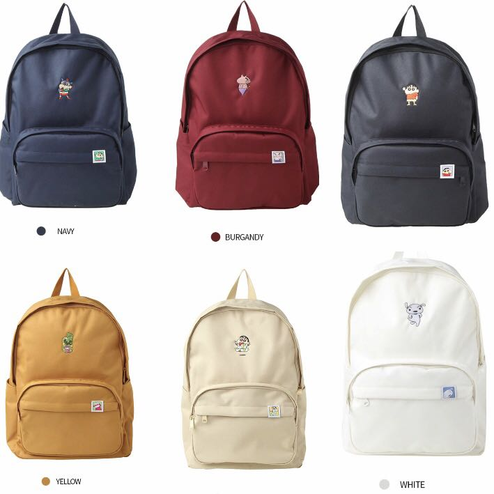 spao x crayon shinchan backpack 6bff5d9220e4a