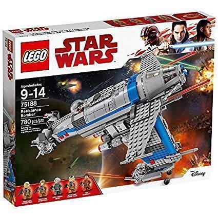 Star Wars Resistance Bomber LEGO set