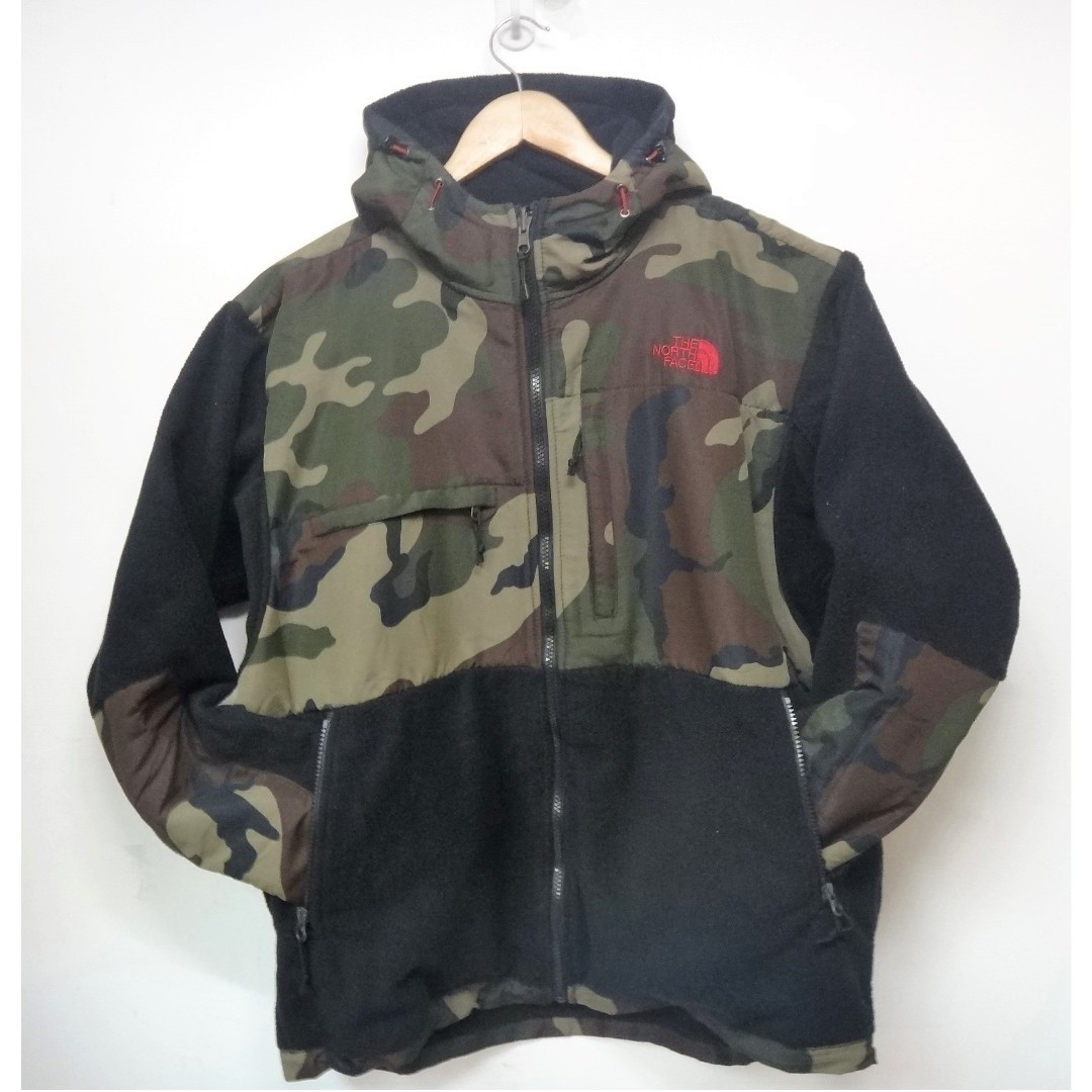 199a138c7 The North Face Camouflage Fleece Jacket 迷彩抓毛外套 Men's M 70105