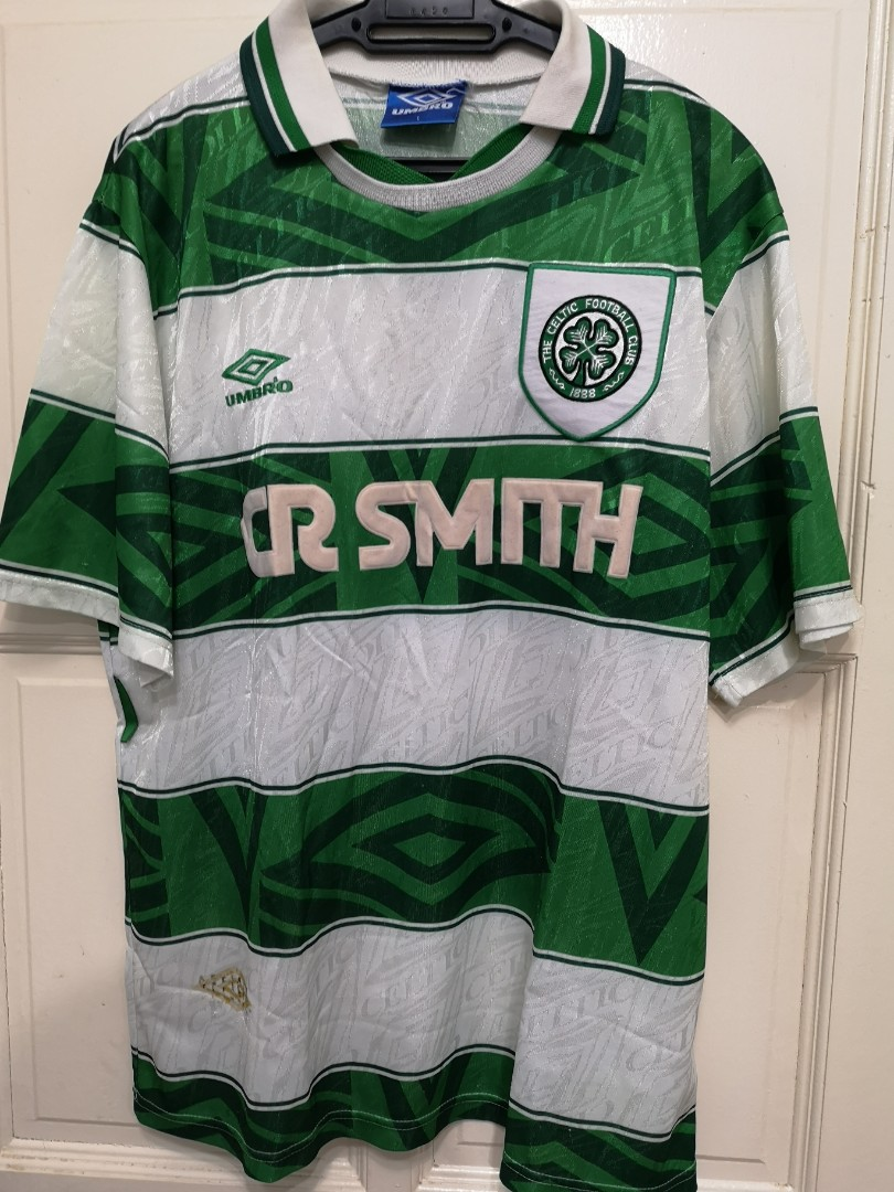 reputable site ffd0d 8b6d6 Vintage Umbro Celtic Shirt 1993-95