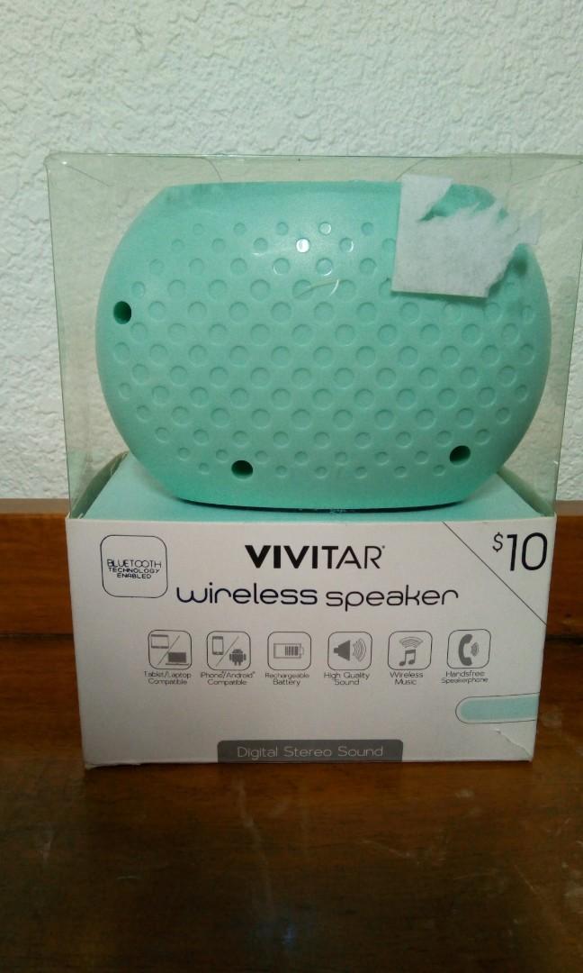 USA Vivitar Wireless Bluetooth Speaker