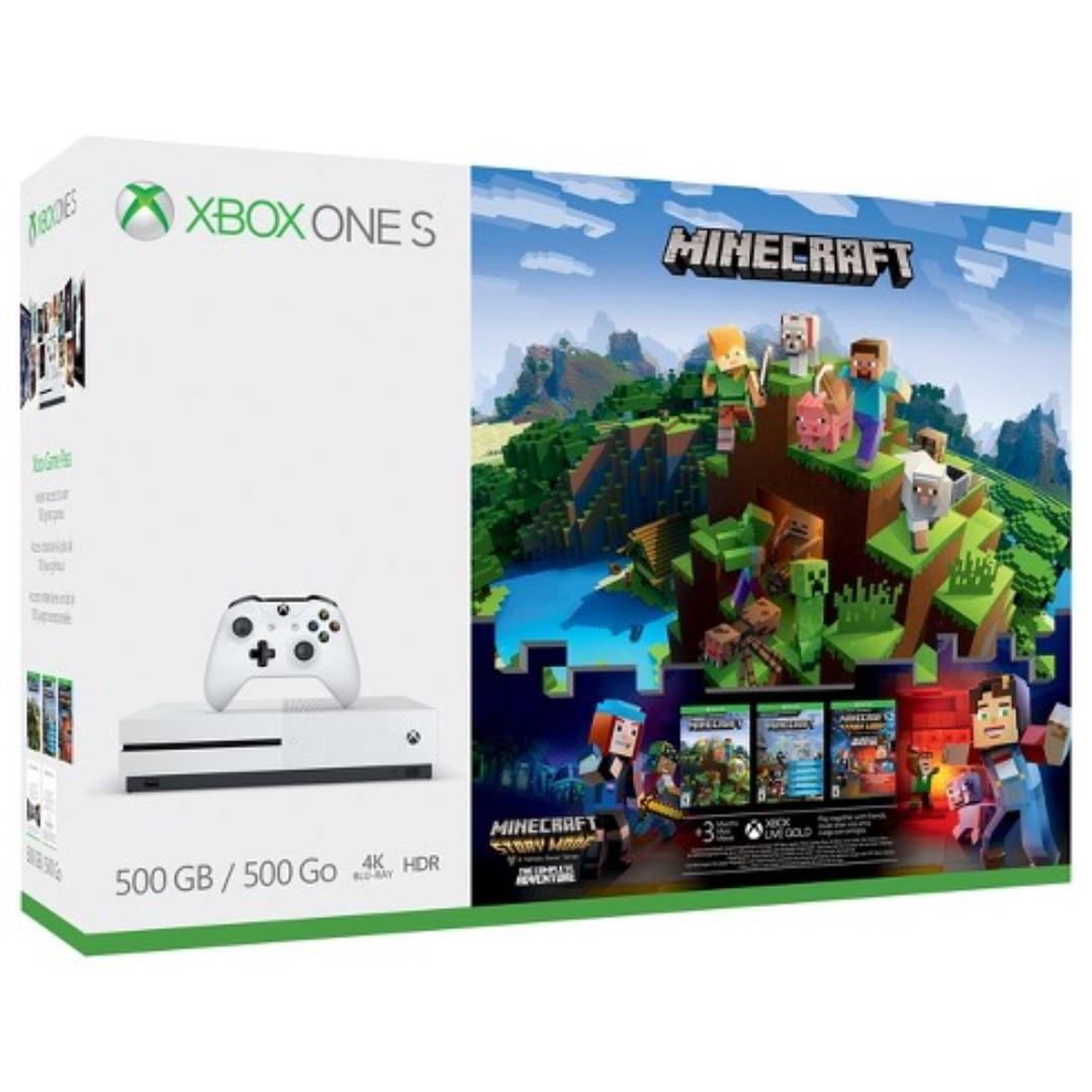 Xbox One S Minecraft Bundle 11GB