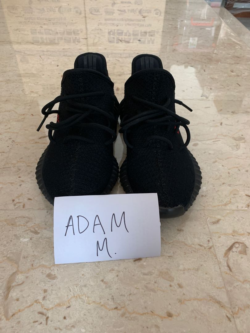 online store 7a1ca ac796 Yeezy Boost 350 V2 Bred NEGOTIABLE, Men s Fashion, Footwear ...