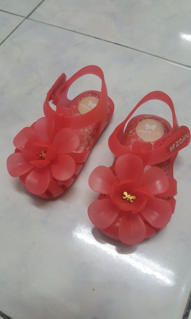 d00117c39131 Zaxy USA Garden Baby jelly shoes