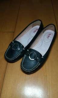 38碼 CAU NARI 黑色平底鞋皮鞋 厚底厚墊單鞋 Flat shoes ballet oxford shoes