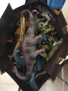 恐龍和動物模型