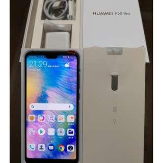HUAWEI 華為 P20 Pro 128G 極光色全新機 保固到5月 Mate20 Pro、Note9、Pixel 3