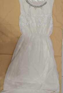 Used Light yellow dress