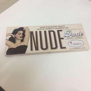 💯 authwntic The Balm Nude Dude palette