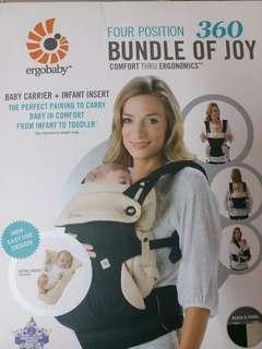 ergo baby carrier brand-new
