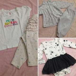 Preloved bundle 2 for baby girls
