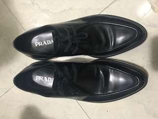 Prada 男裝皮鞋 size 10/45