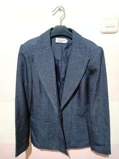1 Set Blazer & Celana Bahan