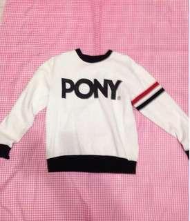 Authentic Pony Unisex Sweatshirt