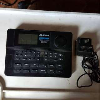 """Alesis"" drum machine"