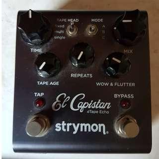 """Strymon "" El Capistan Tape Echo"