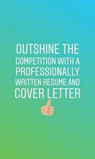 Resume and/or Cover Letter Writer