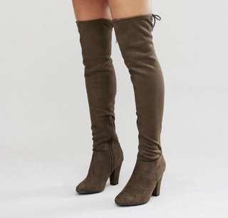 Call It Spring - Qeiven Suede Thigh High Boots