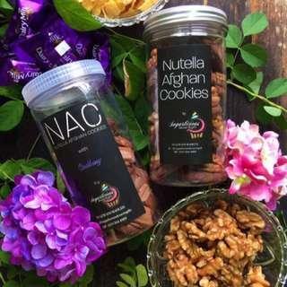 Nutella Afgan Cookies (NAC)
