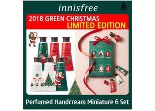 New! Innisfree Hand Cream Miniature Set (20ml x 6 tubes)
