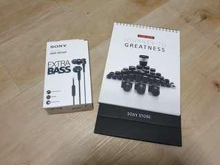 Sony XB75AP earphone