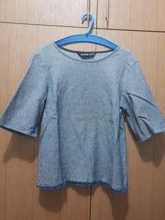 Zara basic Denim couture