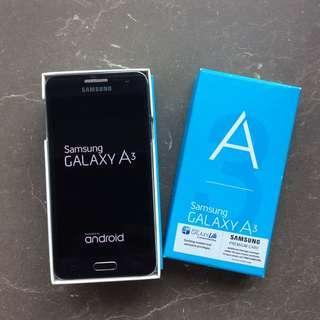 EEUC SAMSUNG GALAXY A3 MIDNIGHT BLACK 16GB