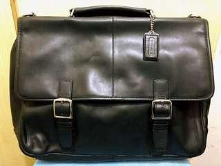 Coach Men Leather Briefcase