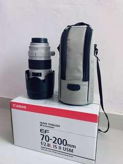 canon 70-200 f2.8 is usm ii