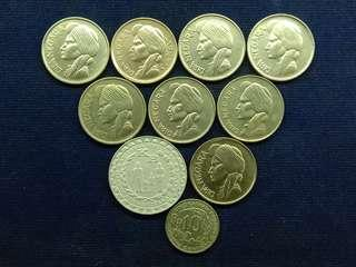 uang kuno mahar 19 rupiah
