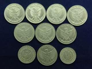 koin indonesia mahar 19 rupiah