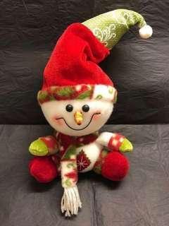 聖誕 可愛 雪人公仔 ⛄️ 擺設 Christmas Snowman Decoration / Soft Toy❄️