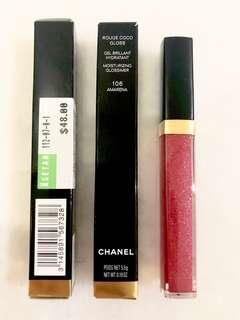 Chanel coco gloss 106 amarena