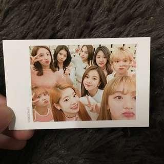twice rare photocards from mnet