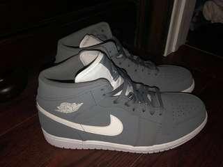Nike grey air Jordan 1