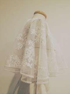 🚚 BOHO style歐美風格婚紗 手工刺繡蕾絲罩衫*精緻做工/鑲水鑽