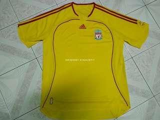 Liverpool away jersey 2006 L