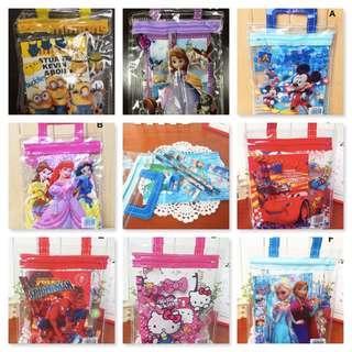 Kids birthday Stationery Set/Goodie Bag
