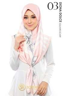 [BOOK NOW] Diona Dolce Square Scarf